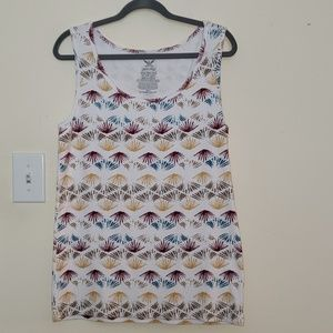 Faded Glory Tops - Faded Glory multi color tank top!